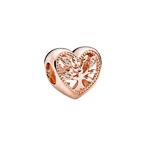 Pandora Women Gilded silver Other form Cubic Zirconia Charm - 788826C01