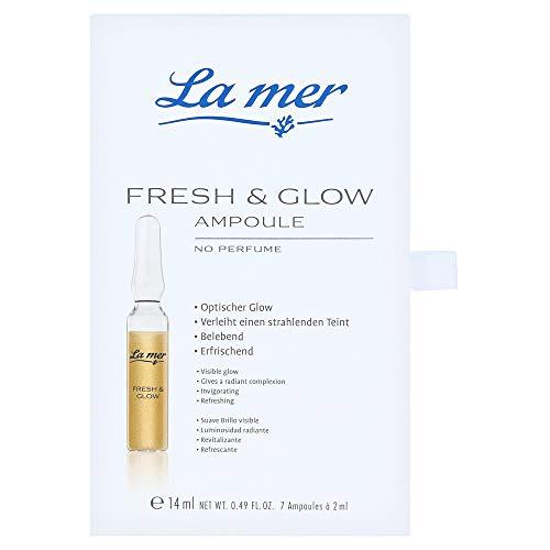 La mer Ampullen 7X2 ml Ampulle Fresh & Glow ohne Parfum 14 ml gesamt