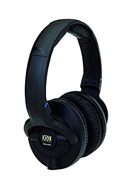 KRK KNS 6400 On-Ear Closed Back Circumaural Studio Monitor Headphones by KRK
