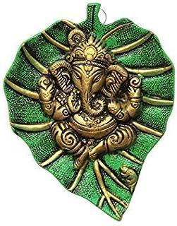 VP Products Ganesh Ji Maharaj/Ganesha/Ganpati on Green Leaf