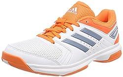 adidas Damen Essence Handballschuhe, Weiß (Ftwbla/Grinat/Naalre 000), 37 1/3 EU