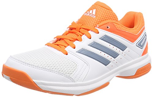 adidas Damen Essence Handballschuhe, Weiß (Ftwbla/Grinat / Naalre 000), 39 1/3 EU
