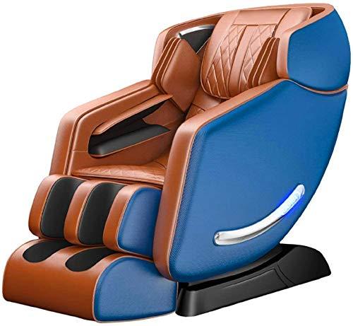 PIAOLIGN Cuerpo Completo Eléctrico Masaje Silla Espacio cápsula manipulador cuerpo completo amasado masajeador hogar inteligente automático sofá música masaje silla