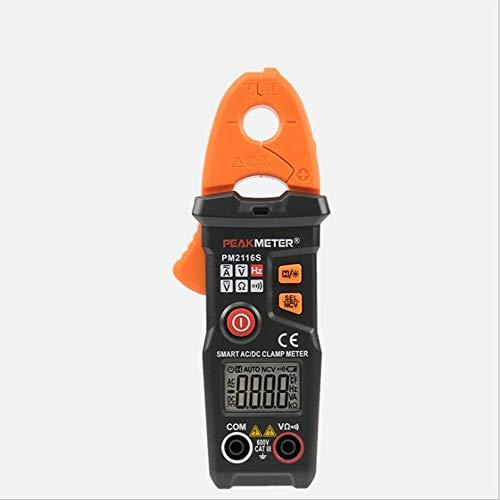 HYY-YY Multímetro de bolsillo inteligente AC y DC abrazadera digital medidor
