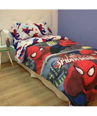 10XDIEZ Funda nórdica Spiderman venon - Medidas Cama