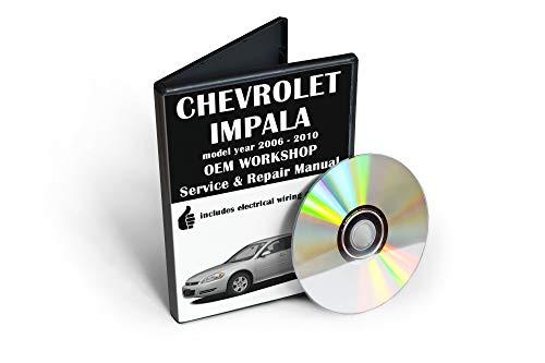 Chevrolet Impala Service & Repair Manual [CD-ROM] (fits year: 2005, 2006, 2007, 2008, 2009, 2010)
