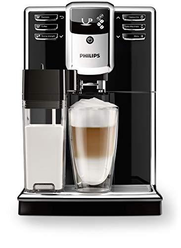 Philips EP5360/10 Serie 5000 - Cafetera Súper Automática, 6 Bebidas de Café, Jarra de Leche Integrada, Limpieza Automática, Molinillo Ceramico