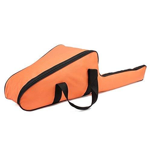Yunjiadodo Sac de transport pour tronçonneuse, sac de transport pour tronçonneuse, étui de protection pour scie de 30,5 cm/35,6 cm/40,6 cm, orange
