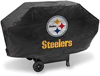 Hall of Fame Memorabilia Pittsburgh Steelers Deluxe Grill Cover with Protective Lining