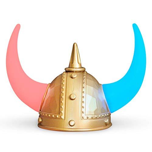 Warrior Viking Helmet with LED Light Up Horns