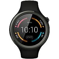 "Motorola Moto 360 V2 Sport - Smartwatch Android (pantalla 1.37"", 4 GB, Quad-Core 1.2 GHz, 512 MB RAM), color negro"