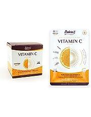 Ardaraz - Lätt vitamin C-anti-fläckkräm + Ansiktsmask. 50 ml