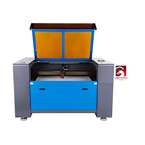 OMTech 100W Laser Engraver and Cutter with LightBurn, 24x40 inch Automated Workbed and Autofocus, 13