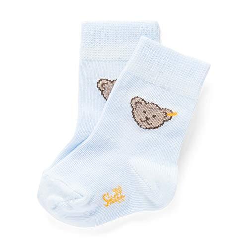 Steiff Baby-Unisex Socken, Blau (Winter Sky 3023), 16 (Herstellergröße: 016)