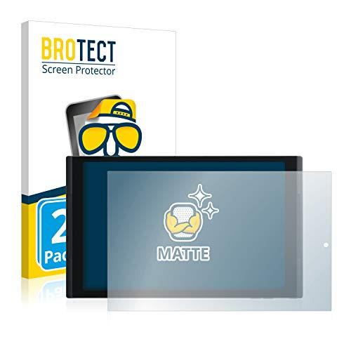 BROTECT 2X Entspiegelungs-Schutzfolie kompatibel mit Medion Lifetab X10302 (MD 60347) Bildschirmschutz-Folie Matt, Anti-Reflex, Anti-Fingerprint