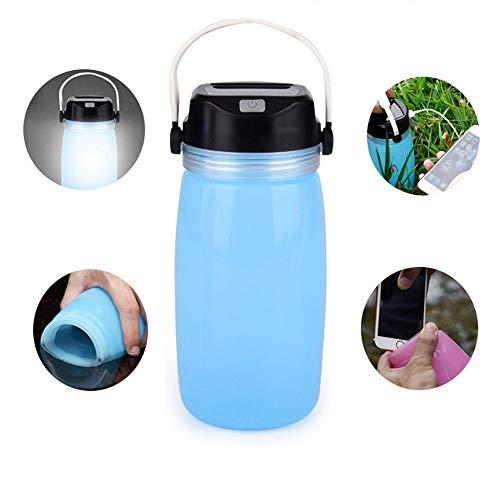 Water Fles Zonne-energie Ketel Outdoor Camping Tent gloeiende Cup Het is een beker, Het is een nacht licht, Het is een mobiele krachtbron
