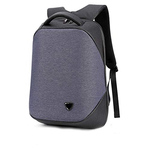 Bangong Mochila unisex ligera para viajes, escuela, universidad, con puerto de carga USB y bloqueo para portátil de 17.3 pulgadas