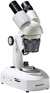 Bresser Researcher ICD LED 20x-80x Stereo Microscope w/Swivel Binocular Attachment 5803100