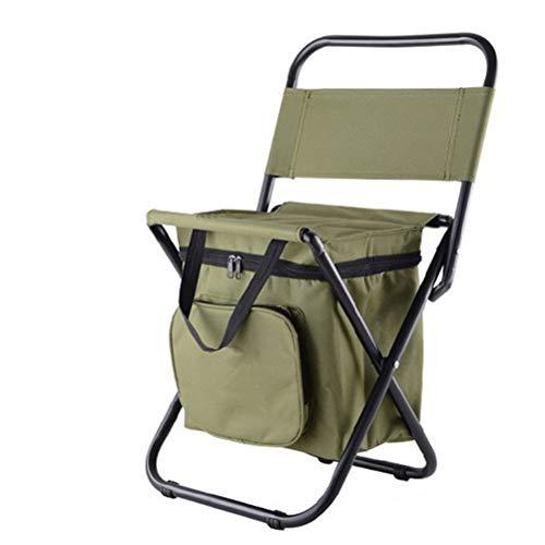 Keemov アウトドアチェア 折り畳み椅子 バックパックチェア 折りたたみチェア 釣りスツール 屋外折りたたみ椅子 多機能折りたたみスツール リュックサック 椅子付きリュック ステンレス鋼 オックスフォード布 コンパクト 大容量 保温 保冷 多機能 耐荷
