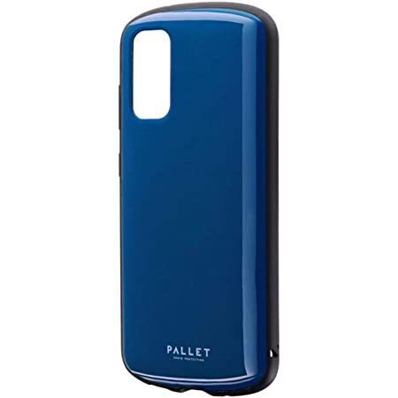 ビアッジ Galaxy S20 5G SC-51A/SCG01 耐衝撃ハイブリッドケース 「PALLET AIR」 ダークブルー【Amazon限定ブランド】 LP-M20SG1PLADBL