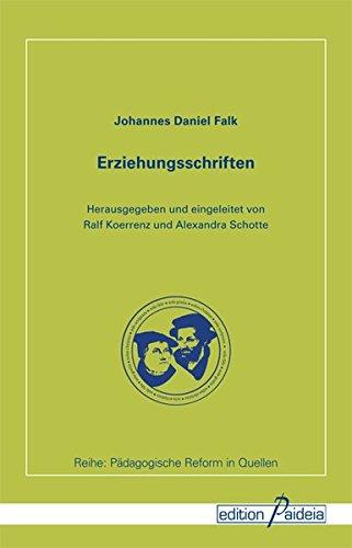 Erziehungsschriften (Pädagogische Reform in Quellen - PReQ)