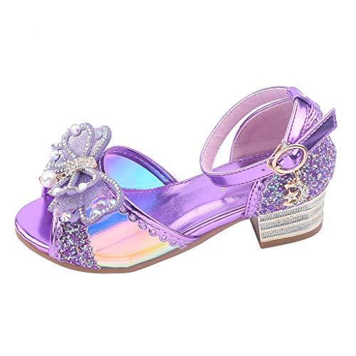 Erste Schritte Schuhe Kind 36, Baby Schuhe Kleinkind Mädchen Bowknot Kristallperle Bling Party Prinzessin Sandalen Kinder 11-11,5 Jahre Günstige Stiefeletten Turnschuhe für Kindertag