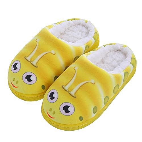Y-PLAND Pantofole Invernali per Ragazzi e Ragazze, Pantofole per Bambini novità, Scarpe da Interno in Peluche Calde per Bambini Piccoli/Bambini-1_EU240