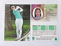エポック 日本女子プロゴルフ協会2020■レギュラーカード■11/柏原明日架 ≪EPOCH 2020 JLPGAオフィシャルトレーディングカード≫