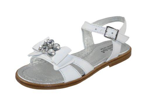 Zecchino d'Oro Zecchino d'Oro F21-5123-106 Mädchen, Elegante Sandale für Festliche Anlässe, Schneeweiß, EU 29
