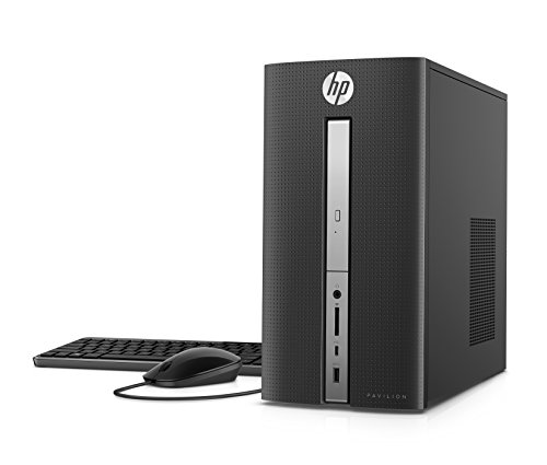 HP Pavilion Desktop Computer, Intel Core i7-7700,...