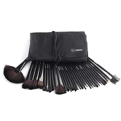 Brosses de maquillage Set kits professionnel 32-pièce Premium synthétique brosse de Fondation mélange visage poudre blush sourcils eyeliner Eye-Shadow cache-yeux cosmétiques,black1