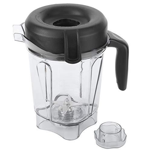 Recipiente para licuadora Recipiente transparente para licuadora de alimentos, Cocina casera o de restaurante para exprimir jugos de frutas y verduras, para recipiente Vitamix de 64 oz