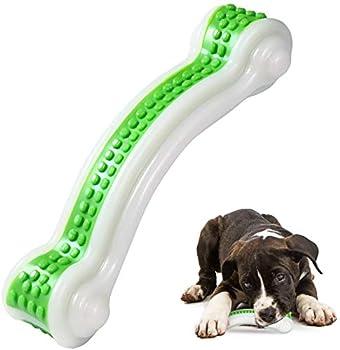 Jouet à mâcher pour chien - Jouet indestructible - Os à mâcher pour chiots et chiots - Soin dentaire - Brosse à dents pour chiens de petite et moyenne taille.