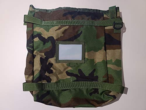 Specialty Defense Systems ~ Molle II Woodland Camo Radio Pouch Utility Pack Bag ~ USGI Military Issue Surplus
