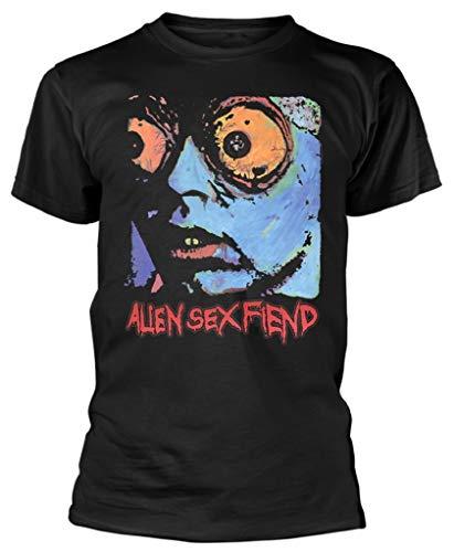 Alien Sex Fiend 'Acid Bath' (Black) T-Shirt (XXX-Large)
