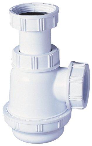 Wirquin SP3178Siphon für Waschbecken/Bidet mit kurzem Sockel
