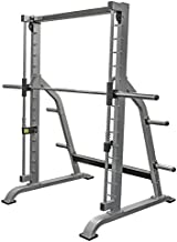 Valor Fitness BE-11 Smith Machine with Olympic Plate Storage Pegs