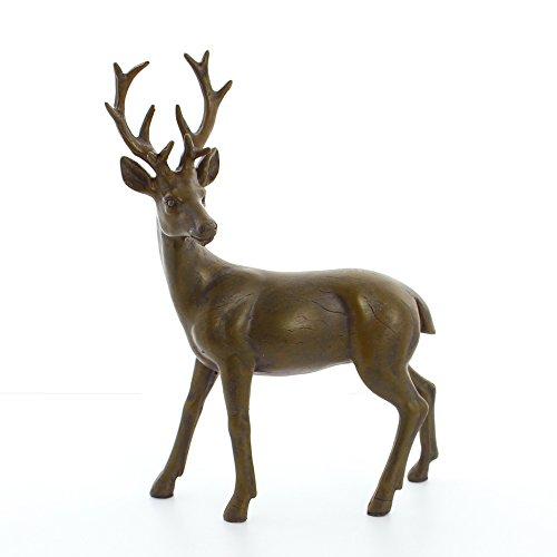 Braune Hirsch Figur