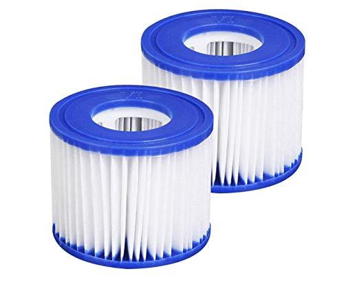 WZYU - Filtro de piscina, filtro de spa tipo VI Coleman SaluSpa 90352E filtro de piscina (8 piezas) (2 unidades)