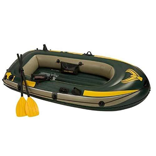 BOATb Kayak Hinchable, Bote Inflable con Remos Y Bomba, Set De Canoas...