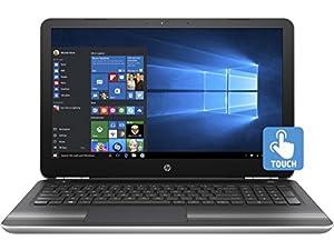 HP Pavilion 15z Windows 10 Laptop PC - AMD A8-7410 Quad Core  Radeon R5 Graphics  15.6-Inch WLED Touchscreen Display (1366x768)  Backlit Keyboard  128GB Eluktro Pro Performance SSD  8GB RAM