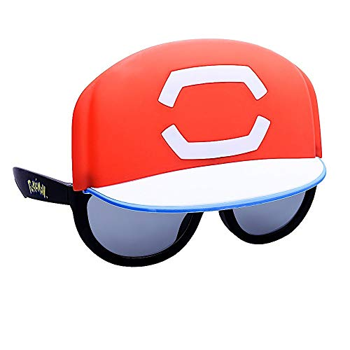 Sun-Staches Officially Licensed Lil' Characters Pokemon Ash Cap