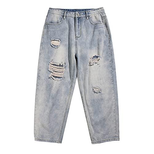 Jeans für Herren Anti-Fading Durable...
