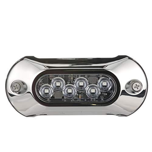 Attwood 66uw06g-7 lumières LED étanche Armor, 2.750 lm, couleur vert
