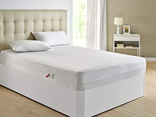 Pikolin Home - Funda de colchón antichinches, impermeable y transpirable, 150x190/200cm-Cama 150 (Todas las medidas)