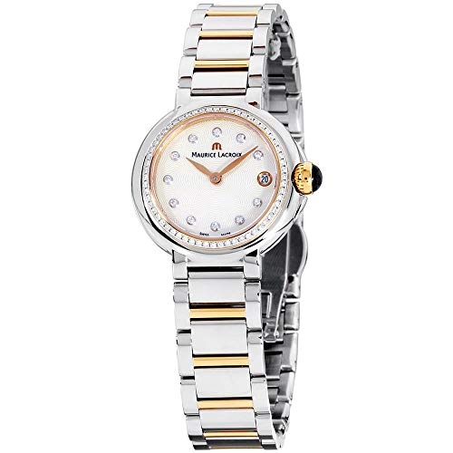 Maurice Lacroix Fiaba Damen-Armbanduhr Diamant 28mm Zwei Ton FA1003-PVP23-170-1