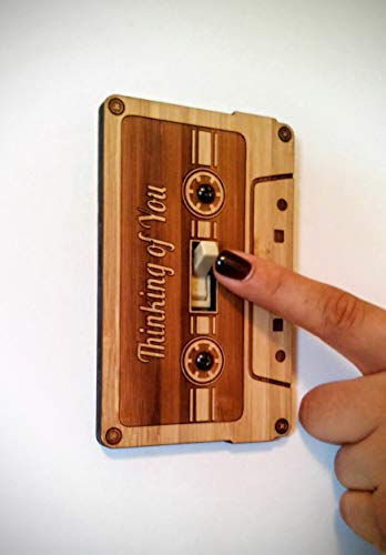 Light Switch Cover- Cassette Tape Switch Plate