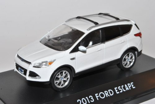 Greenlight Ford Kuga II Escape Weiss Ab 2012 1/43 Modell Auto
