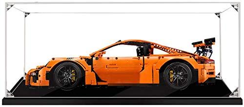 ZHLY Vitrina de acrílico para Lego 42056 Technic Porsche 911 GT3 RS, Display Case a Prueba de Polvo para Lego 42056(Solo Vitrina) (3MM)