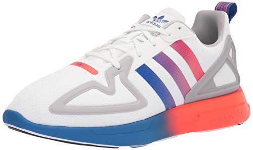 adidas Originals Mens Zx 2K Flux Sneaker, Grey,10.5